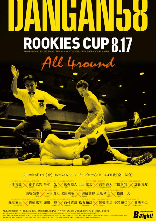 DANGAN58 ルーキーズカップ/オール4回戦 試合結果