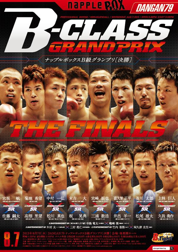 DANGAN79 ナップルボックスB級グランプリ決勝 試合結果