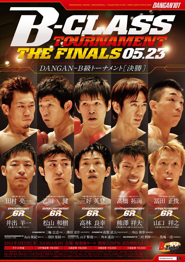 DANGAN101 DANGANB級トーナメント決勝 試合結果