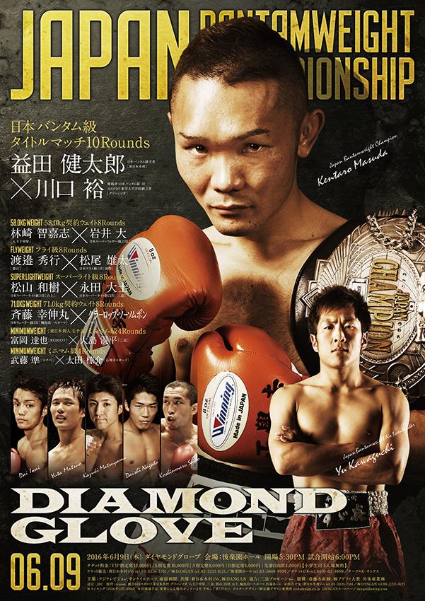 ダイヤモンドグローブ 日本バンタム級タイトルマッチ 試合結果